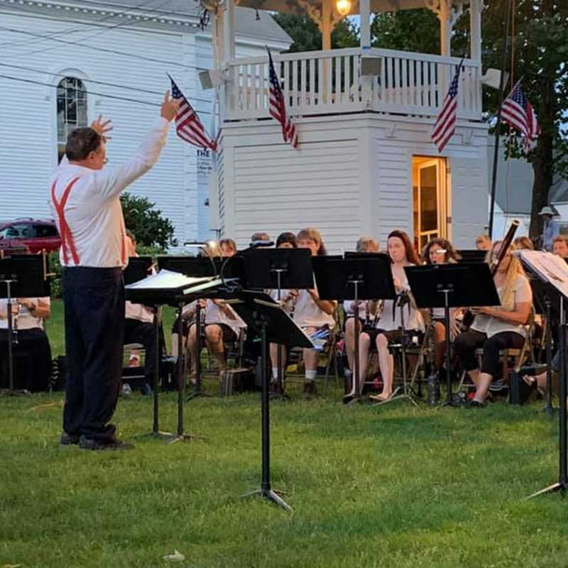 Belchertown Community Band concert