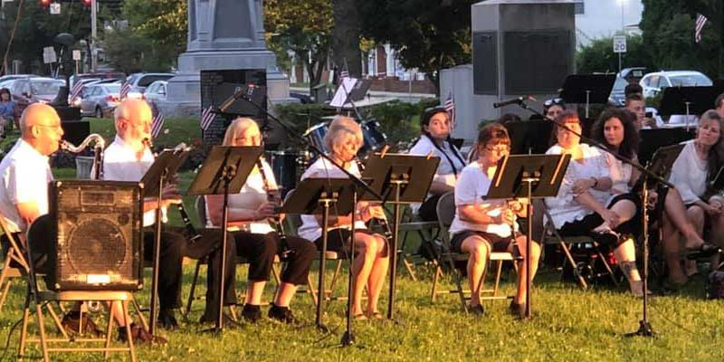 Belchertown Comunity Band Clarinets