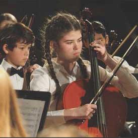 Springfield Youth Symphony cellos